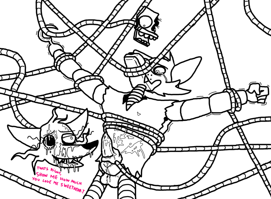 mangle porn x fnaf foxy Pictures of rouge from sonic