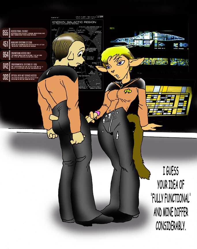 generation next star nude trek Growther the seven deadly sins