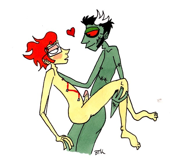 is zombie a this kyoko Scooby doo alien invaders girl