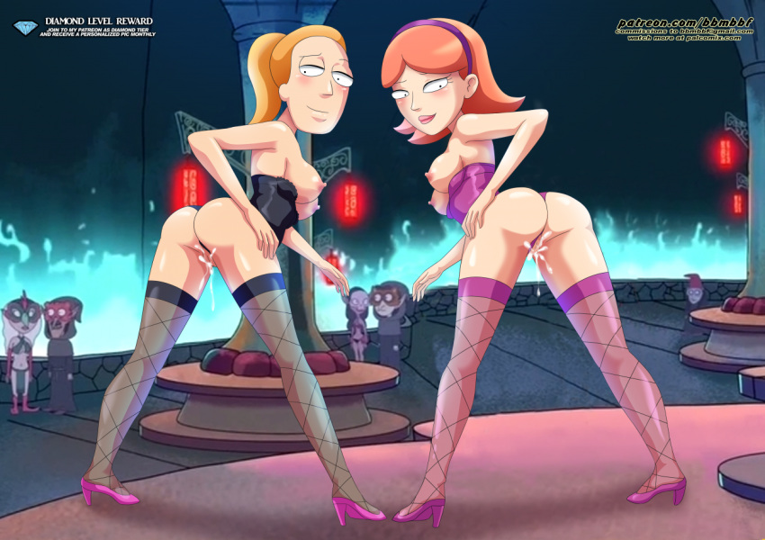 jessica and morty naked rick Edgar bendy and the ink machine