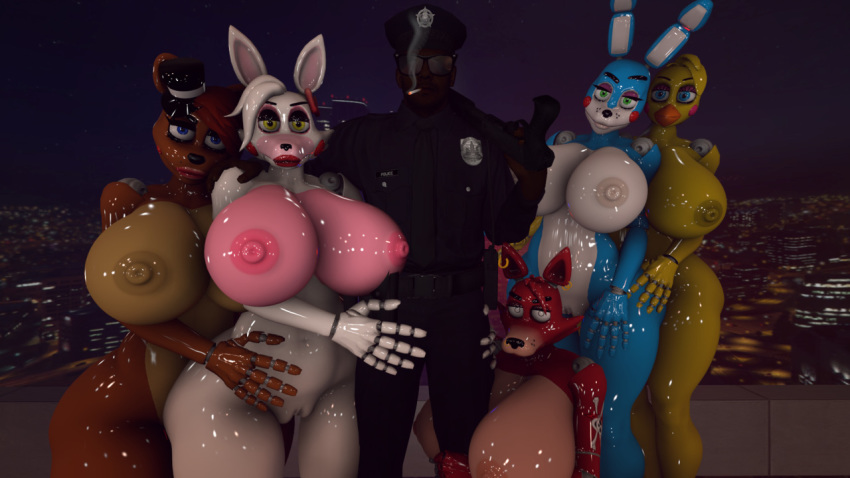 human five mangle nights freddy's at Mlp equestria girls sweetie belle