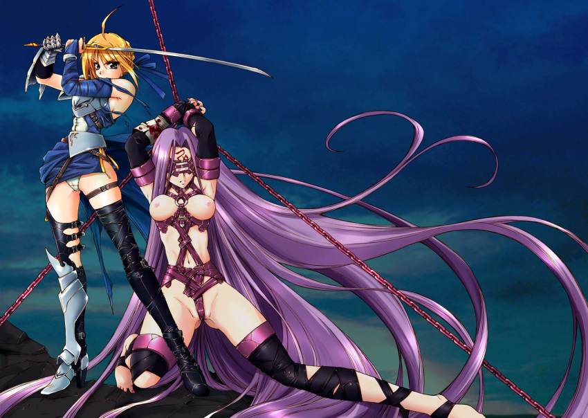 fate/stay hentai night saber My little pony human nude