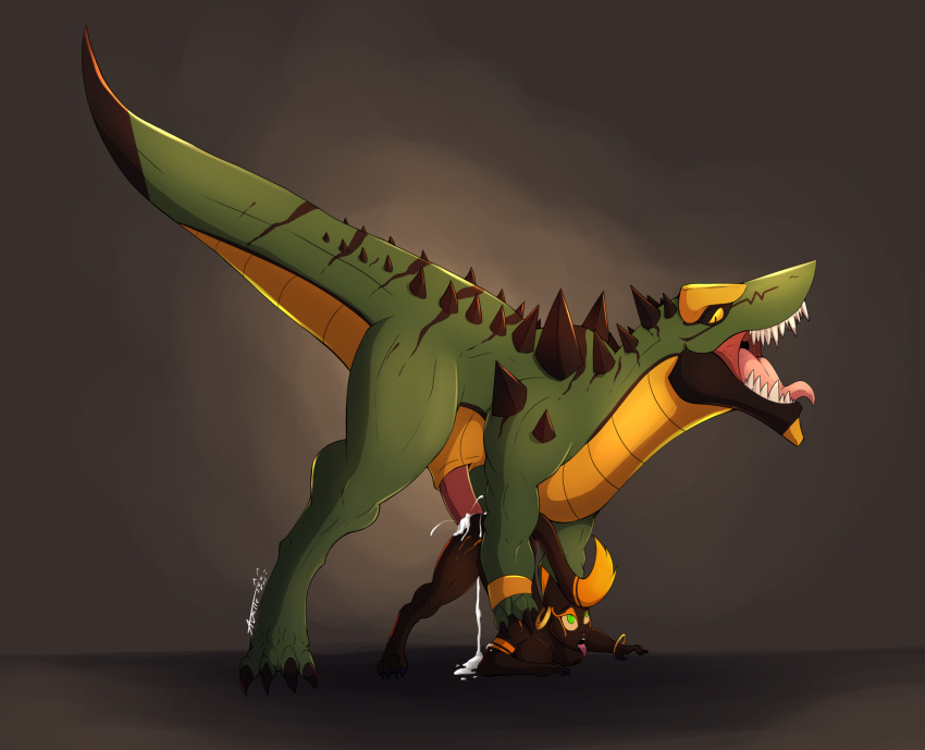yee dinosaur is what from Scooby doo and the reluctant werewolf googie