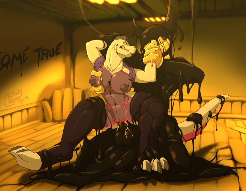the ink and xxx bendy machine Trials in tainted space impregnation